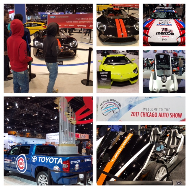 In Awe At The Auto Show Youth Outreach Services - Mccormick place car show
